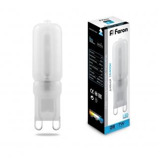 Светодиодная лампа Feron LB-431 (7W) 230V G9 6400K