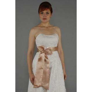 Пояс для платья, капучино/ 2 м
