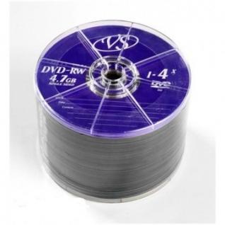 Носители информации VS DVD-RW 4,7GB 4x Bulk/50