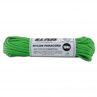 Rothco Паракорд 550 lb зеленого цвета,100 фт., нейлон
