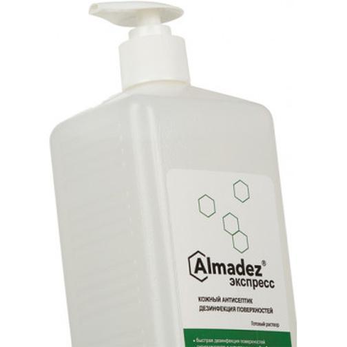 Антисептик кожный Алмадез-Экспресс 1,0 л (с дозатором) 37867404
