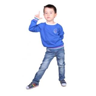 na Jetem, Пуловер д/мальчика (BS16_2200000368867 110, синий, Мальчик)