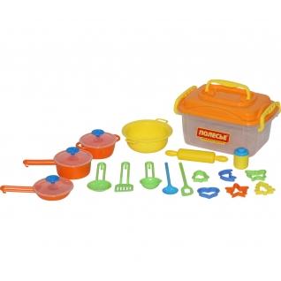 Набор детской посуды (20 элементов) (в контейнере) Полесье