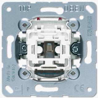 Механизм переключателя Jung 506KOU универсальный (проходной) одноклавишный 10А балансирный контрольный возм. подсветки
