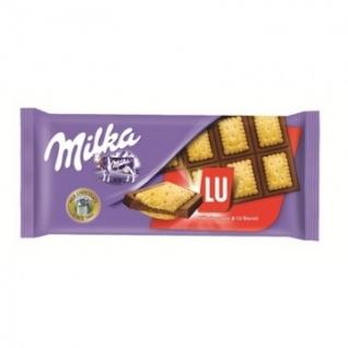 Шоколад Milka плитка молоч. с печеньем LU 87г