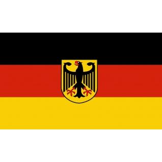 Флаг Германии с изображением орла XXL