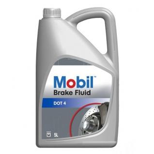 Тормозная жидкость Mobil Brake fluid DOT 4 5л