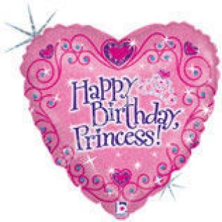 Принцесса С днём рождения Голография