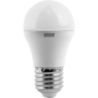 Gauss Лампа Gauss LED Elementary Globe 6W E27 4100K 1/10/50