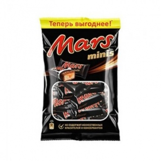 Шоколадный батончик Mars мини 182г