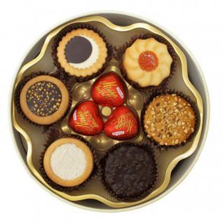 Печенье Бискотти Santa Bakery с шоколдными конфетами, 500г