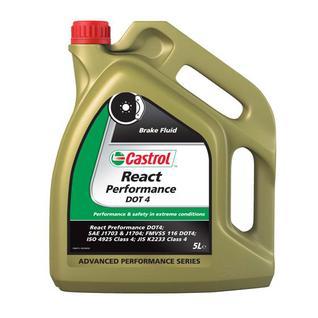 Тормозная жидкость Castrol React DОТ 4 Low Теmр 5л