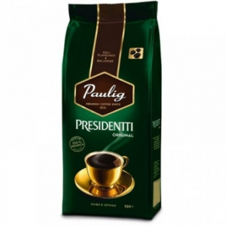Кофе Paulig Presidentti Orig в зернах 250 г.