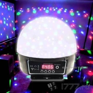 Дискошар светодиодный 15 режимов мерцания AB-0006+3 подарка на выбор