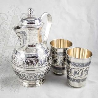 Набор для воды из серебра «Родник»