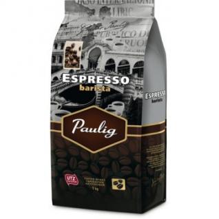 Кофе Paulig Espresso Barista в зернах 1 кг.