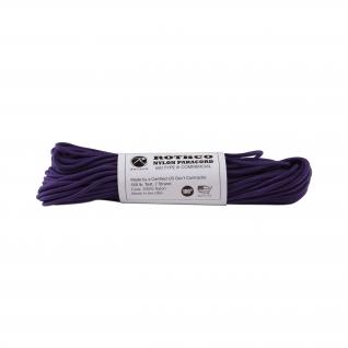 Rothco Паракорд 550 lb фиолетового цвета, 100 фт, нейлон