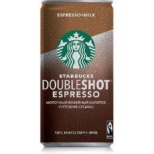 Кофейный напиток мол.стер.Starbucks Doubleshot Espresso2,6% 200 мл