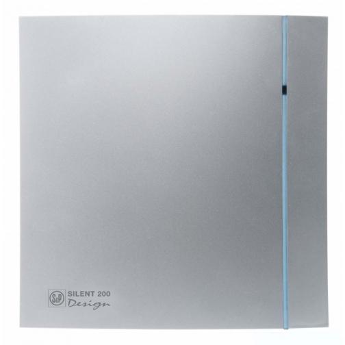 Вентилятор Soler & Palau Silent-200 CHZ Silver Design-3C 6770102