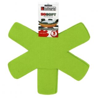 Кухонные аксессуары. Открывалки. Steuber GmbH Вкладыши Pan Protector для хранения сковородок NW-PP-Green-051909