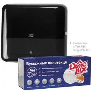 Полотенца бумажные д/держ. ASTER Pro Z-слож.131212 144л./уп.