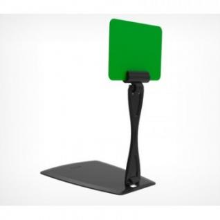 Ценникодержатель настольный DELI-UNBO с изм. углом наклона, черный,20шт/уп.