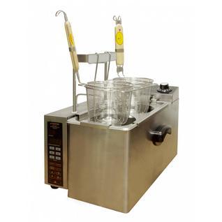 KOCATEQ Макароноварка электрическая автоматическая настольная, 1 ванна 5 л с 2 порционными корзинами Kocateq ESWBT4LAP