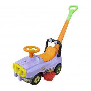 Автомобиль Джип-каталка с ручкой (сиреневый) Полесье