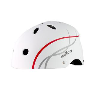 Ролик. шлем Maxcity Roller Liner, белый (м)