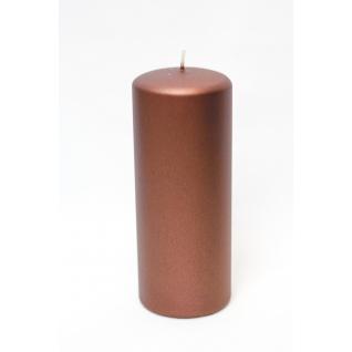Свеча декоративная шоколадного цвета platinum