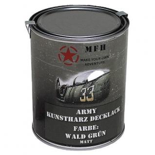 MFH Лак защитный Army, цвет матово-зеленый, 1 л.