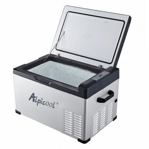 Kомпрессорный автохолодильник ALPICOOL C30 черный (30л, 12/24/220В) 36995009 2