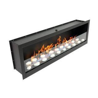LUX FIRE Встроенный биокамин Lux Fire Кабинет 1400