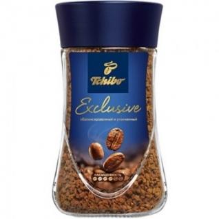 Кофе Tchibo Эксклюзив растворимый стекло 95г