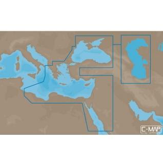 Карта C-MAP EM-N111 - Черное и Каспийское море, часть Средиземного моря C-MAP