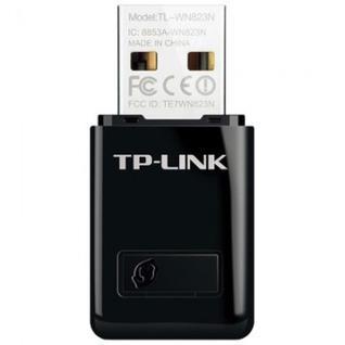 Адаптер Wi-FiWi-Fi TP-LINK TL-WN823N (wf,2,4ГГц,300Мбит/с,USB2.0)