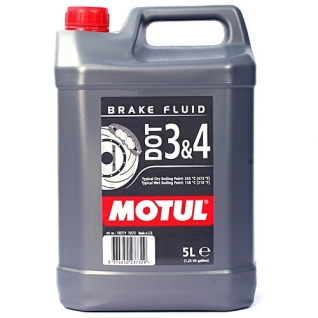 Тормозная жидкость MOTUL DOT 3&4 BF FL 5л.