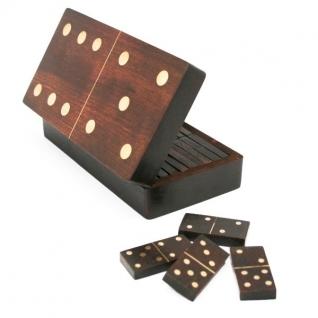 """Экспедиция Игра Домино """"Брамин"""" в деревянной коробке"""