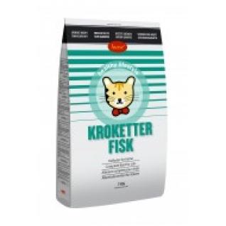 Корм сух.д/кошек Husse KROKETTER FISH 7кг