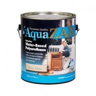 Полиуретановый лак на водной основе AQUA ZAR полуглянц., 3,78 л., в уп. 2 шт.