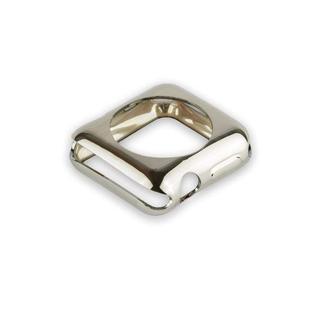 Чехол силиконовый COTEetCI TPU case для Apple Watch Series 3/ 2 (CS7041-TS) 42мм Серебристый