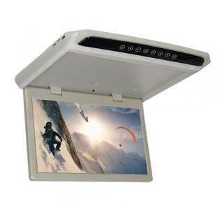 """Автомобильный потолочный монитор 15.6"""" со встроенным Full HD медиаплеером ERGO ER154FH (+ беспроводные наушники в подарок!)"""