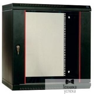 Цмо ЦМО! Шкаф телеком. настенный разборный 12U (600х650) дверь стекло,цвет черный (ШРН-Э-12.650-9005) (1коробка)
