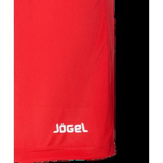 Шорты футбольные Jögel Jfs-1110-021, красный/белый, детские размер XS