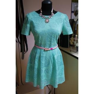 Платье с коротким рукавом 44 размер