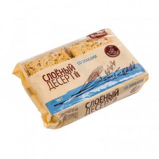 Печенье Вкусвилл Слоёный десерт со злаками, 200г