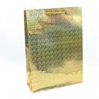 Пакет подарочный голография (32х45х11см) микс Арт: 000LA
