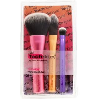 Профессиональные кисти для макияжа - Набор mini-кистей для макияжа Real Techniques Brush Trio