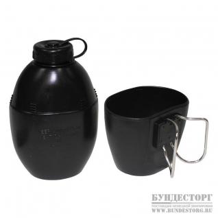 MFH Фляга Britische Plastikfeldflasche schwarz