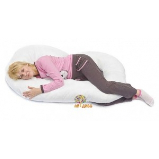 """Подушка для беременных и кормящих мам G - форма """"Рогалик"""" 340 х 35 см"""